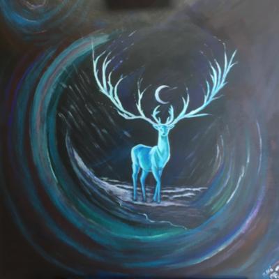 Intuïtieve schilderijen vanuit inner colors